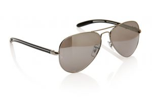 Elegant sunglasses isolated on the white