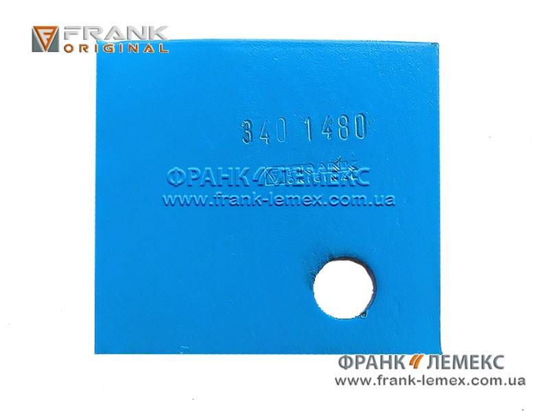 Накладка польової дошки (протектори корпуса плуга) Лемкен 3401480
