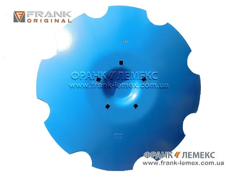 Диск зубчатий (диск ) Лемкен 3490467