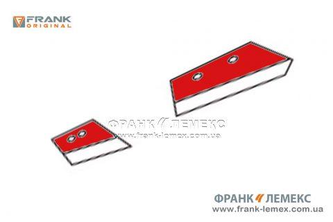 Леміш передплужника Frank Original (підходить замість 631016 KUHN S.A.)